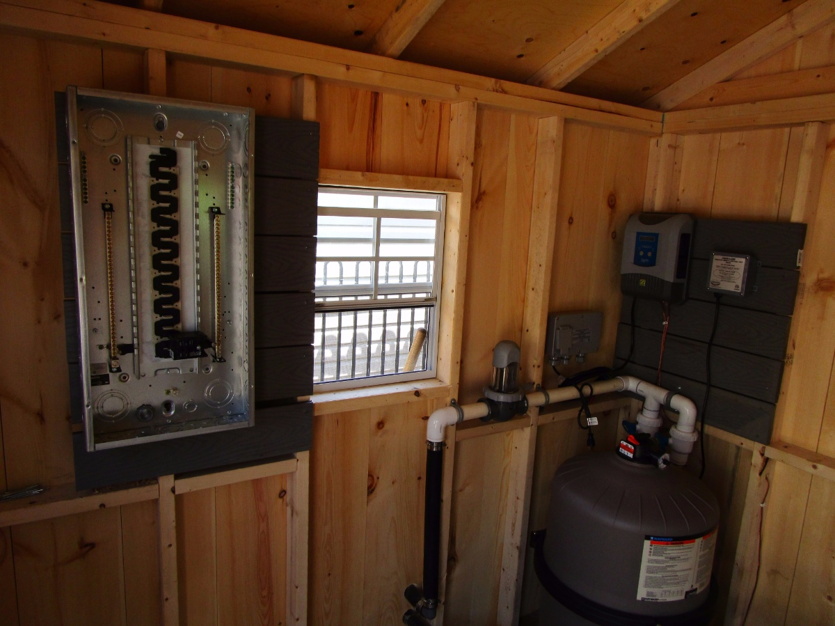 Hot Tubs And Swimming Pools Live Electric Wiring A New Tub